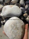 Oversize Natural Landscaping River Stone Pebbles with White Color
