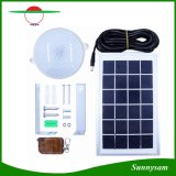 8W 18 LED Super Bright Waterproof Solar Ceiling Lamp with 5m Cable Optional Remote Control LED Outdoor Lighting Garden Home