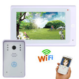"7"" TFT Wired / Wireless WiFi IP Video Door Phone Doorbell Intercom System with 1000tvl"