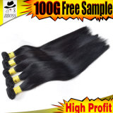 100% Human Hair Products Brazilian Hair Bulk