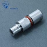 """RF Coaxial Male Plug Clamp Qma Connector for 1/4"""" Superflexible Cable"""