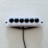 9mm Hex Black Pole Piece Single Coil Guitar Pickup