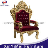 Gold Wedding Royal Throne King Chair (XYM-H91)