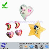 Cartoon Chemical Resistant Plastic Full Color Outdoor Dome Safety Stickers