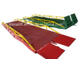 Hydraulic Mobile Forklift Loading Ramp with CE