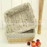 Customized Handmade Eco-Friendly High Quality Wicker Storage Basket with Liner