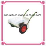 Metal Double Wheels Heavy Duty Wheelbarrow
