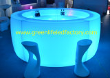 Modern LED Furniture-16color, Rechargeable, Round Bar Counter