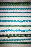 Semi Precious Stone Blue Turquoise Crystal Loose Bead