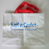 Custom Handle Laminated PP Woven Shopping Bag for Packages