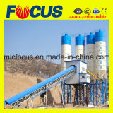 90m3/H Belt Conveyor Concrete Batching Plant with Double-Shaft Mixer Js1500