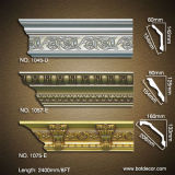 Architecture Interior PU Artistic Crown Moulding
