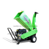 15 HP Small Forestry Use Low Fuel Consumption Gasoline Wood Chipper Machine