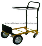 Four Wheels Hand Trolley/ Heavt Duty Industrial Hand Truck/ Dolly Cart