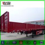 Chinese 60 Ton Lorry Semi Trailer Tri-Axle Cargo Truck Trailer for Sale