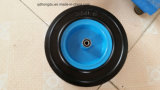 Stripe Pattern 12 Inches Lawn Mower Solid Rubber Wheel
