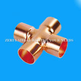 Copper Pipe Cross Fittings for Medical Gas