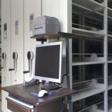 Smart Archives Mobile Shelving/Metal Movable Compact Mobile Filing Cabinet