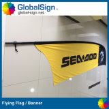 Branded Logos Advertising Polyester Fabric Blades Flag Sign Banners