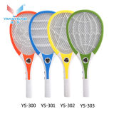 White Handle Durable and Rechargeable Electric Mosquito Rackets/Swatter for Pakistan with 3 LED Light (OEM)