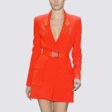 Fashion New Design Stylish Ladies Orange Color Suit