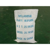 99.8% Min Purity Melamine (C3H6N6)
