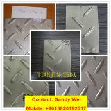 Floor Anti-Slide Diamond Checkered Tread Stainless Steel Plate 304 201 420