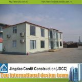 China Luxury Prefabricated House with Light Steel Structure