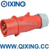 3p+E 400V PA66 Cee Industrial Plug & Socket (QX252)