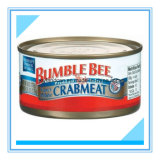 Tinplate Can for Packaging Crabmeat