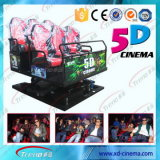 Amusement Park Equipment Racing Simulator5d 6D and 7D Cinema
