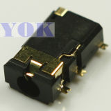 4pole Hight4.55 SMT Audio Jack 3.5mm Used on GPS (PJ-3559-L8G)