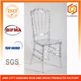Clear Transparent Acrylic Resin Royal Chair in Wedding