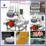 Commercial Single Head Computerized Embroidery Machine for Flat Cap T-Shirt Shoe Embroidery