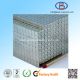 10X10X10 High Precision Zinc Coating Permanent NdFeB Magnet Cubes
