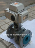 Electric Metal Sealing Flange Ball Valve (Q941H)