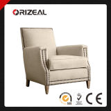 Living Room Upholstered Chairs Marcel Upholstered Club Chair with Nailheads