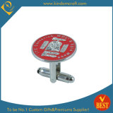 Soft Enamel Metal Cufflink for Promotional Gift