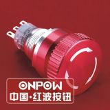 Onpow Emergency Stop Switch (LAS1-AGQ-11TS) (Dia. 19mm) (CE, CCC, RoHS, REECH)