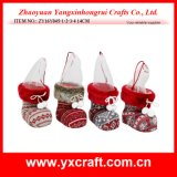 Christmas Decoration (ZY16Y045-1-2-3-4 14CM) Christmas Stock for Gift Kids Socks