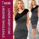 Women New Fashion Sexy Bodycon Night Club Cocktail Dress (L36018)