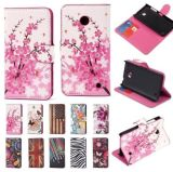 PU Leather Wallet Cases Protective Skin for Samsung LG and iPhone 5