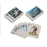 Customized Paper/Plastic Poker Playing Cards for Castrol