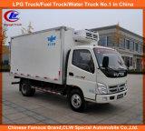 4*2 Foton Mini Frozen Meat Fish Transport Truck
