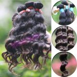 Tangle Free and No Shed Soft Wavy Virgin Brazilian Human Hair Extension