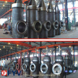 API 6D Wcb Slab Gate Valve with Gear