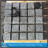 Natural Black Basalt Paving /Pavers Cube Stone for Concrete Patio/Backyard