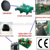 Rubber Sheet Making Machine / Reclaimed Rubber Making Plant