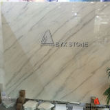 Chinese Guangxi Rainbow White Marble for Slab and Tile