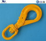 G80 European Swivel Self-Locking Hook